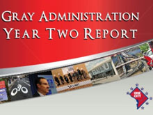 Gray Administration Year Two Report