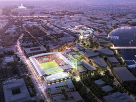 Plans for New World-Class Soccer Stadium