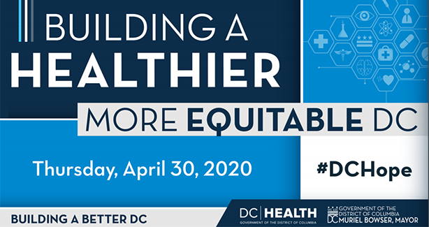 Building a Healthier, More Equitable DC presentation cover