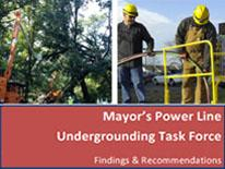 Power Line Undergrounding Task Force Findings and Recommendations